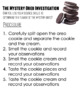 The Mystery Oreo Investigation