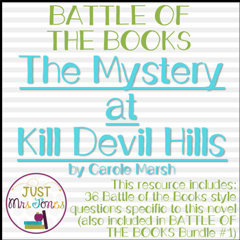 The Mystery at Kill Devil Hills Battle of the Books Trivia Questions