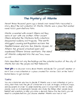 an introduction to the mystery of atlantis Published: (1898) the hermetic art: an introduction to the art of alchemy the text  of  our story of atlantis : written down for the hermetic brotherhood / by wp.