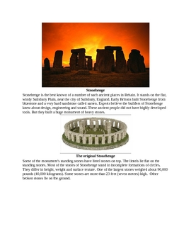 The Mystery of Stonehenge for Kids