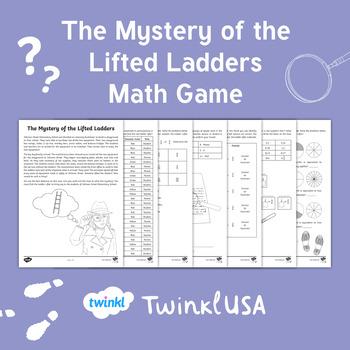 The Mystery of the Lifted Ladders Math Game