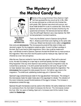 The Mystery of the Melted Candy Bar (Science & Technology/Microwaves)