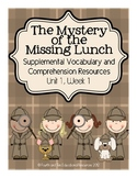 The Mystery of the Missing Lunch {Supplemental Materials}