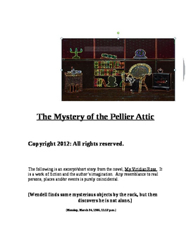 """""""The Mystery of the Pellier Attic, A Short Story)"""" [*New Book Trailer]"""