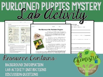 The Mystery of the Purloined Puppies