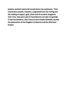 The Myth of the Sunken Island of Atlantis