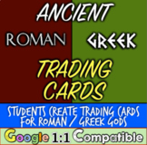 Ancient Rome Mythology: Students Create Roman God & Goddess Trading Cards!