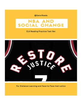 The NBA Giving Back FSA/CCSS ELA Reading Practice Text Set