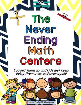 The NEVER ENDING Math Centers