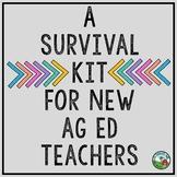 A Survival Kit for New Agriculture Education Teachers (BUNDLE)