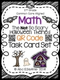 The NOT So Scary Halloween Math Task Cards {QR Codes}: All