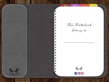 The Nadia Digital dot grid Notebook Freebie for iPad