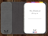 The Nadia Digital dot grid Notebook Freebie for iPad