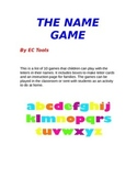 The Name Game