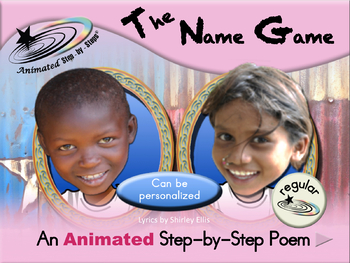 The Name Game - Animated Step-by-Step Song - Regular