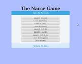 The Name Game (Chemistry Naming App)