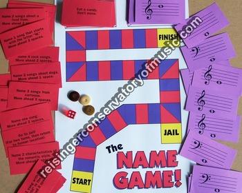 The Name Game , music, music trivia