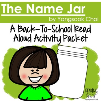 The Name Jar: Back to School Activity Packet
