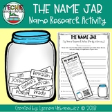 The Name Jar- Beginning of the Year Activity