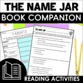 The Name Jar Book Companion | Distance Learning