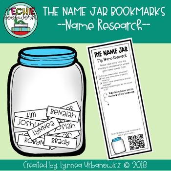 The Name Jar Bookmarks