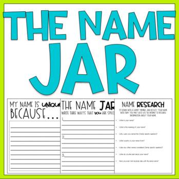 The Name Jar / Read Aloud Book Companion