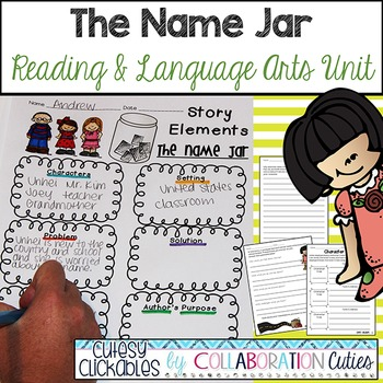The Name Jar Reading and Language Arts Unit {Common Core}