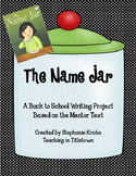 The Name Jar book activity