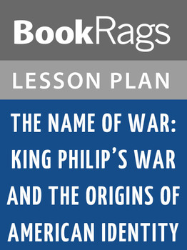 The Name of War: Lesson Plans