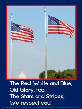 The Names of Our Flag poem
