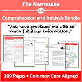 The Namesake – Comprehension and Analysis Bundle