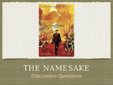 The Namesake Film Discussion Questions