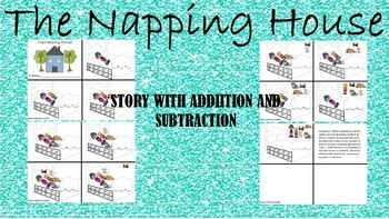 The Napping House- A Sequencing Activity with Addition and Subtraction