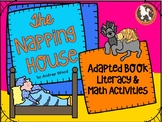 The Napping House...Adapted Book, Literacy and Math Activities