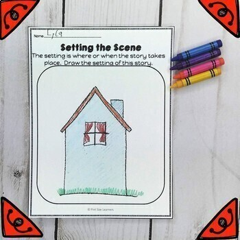 The Napping House Book Activities Grades 1 and 2