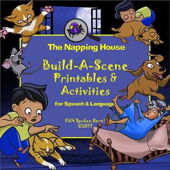 The Napping House Book Companion: Printable Activities for Speech & Language
