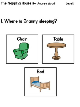 The Napping House Comprehension