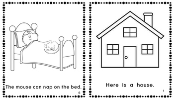The Napping House Emergent Reader Mini Book