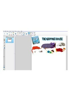 The Napping House--SMARTBOARD FILE