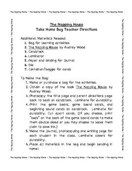 The Napping House Take Home Bag