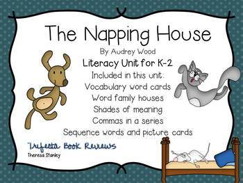 Story Activities:  The Napping House by Audrey Wood