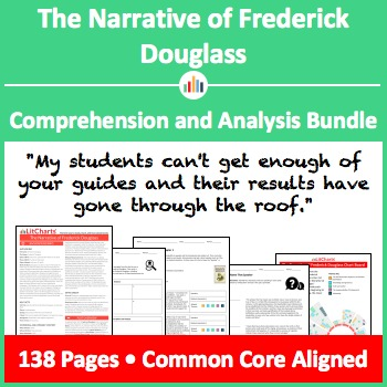 The Narrative of Frederick Douglass – Comprehension and Analysis Bundle