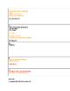 The Narrative of the Life Frederick Douglass Unit Calendar/Notes