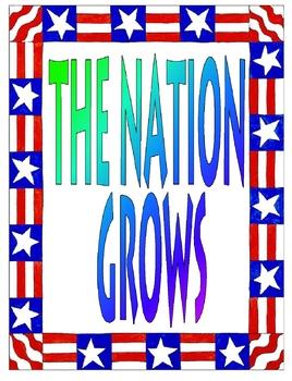 The Nation Grows Unit Plan Bundle