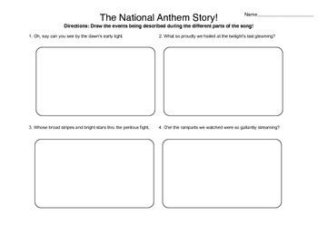 The National Anthem Story. Listen! Read!! Draw!!!