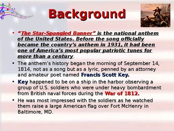 The National Anthem - Symbol of American Freedom