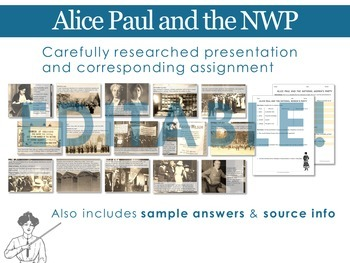 Alice Paul and the National Woman's Party Bundle