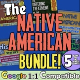 Native American Resources Unit Bundle | 5 Engaging Native American Activities