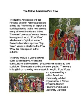 The Native American Pow Wow