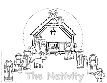 The Nativity Bible Story Crowns, Christmas Activities, Christmas Hats
